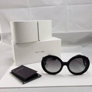 PRADA Sunglasses PR 27NS 1AB3M1 Black 55MM